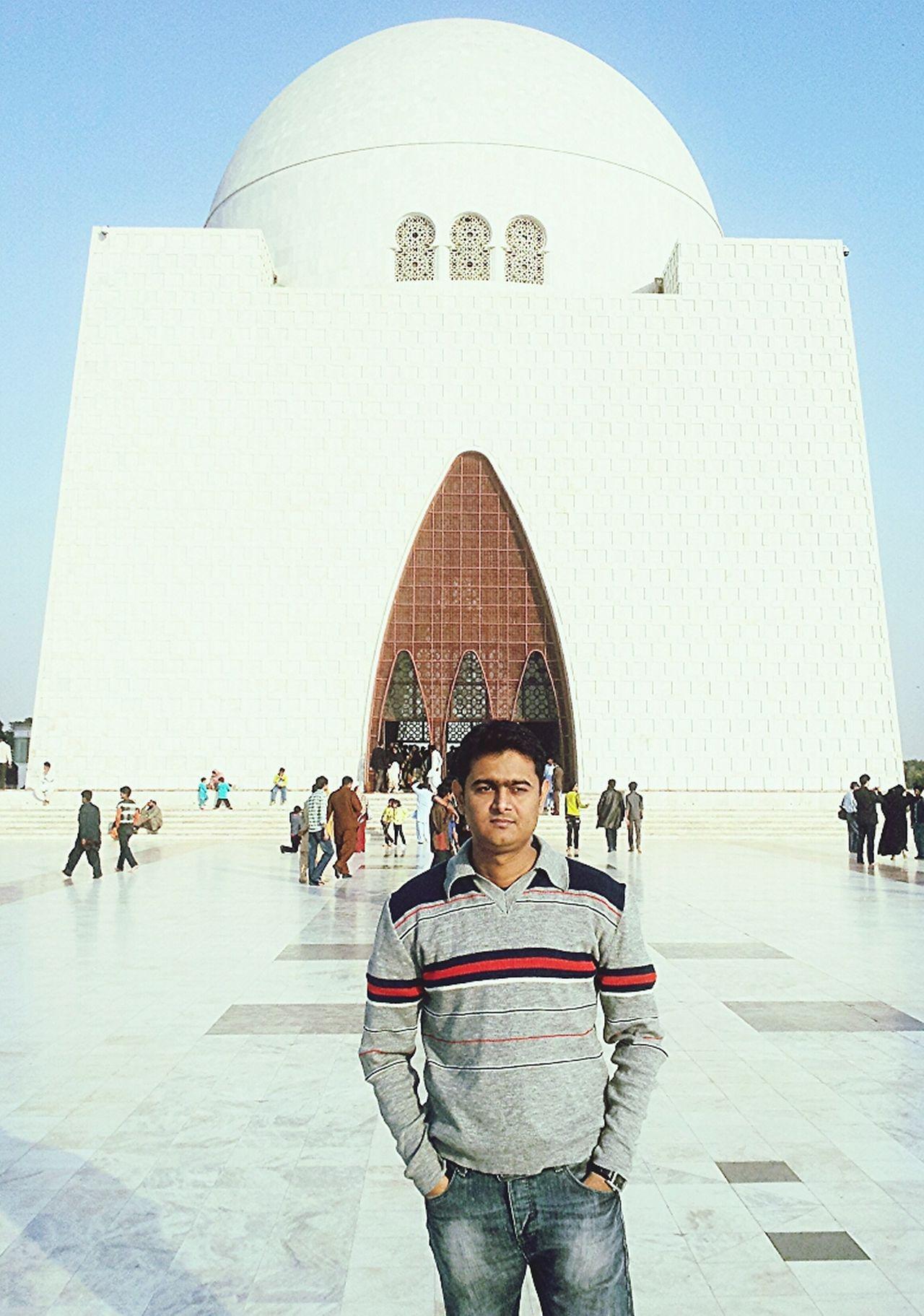 Jinnah Tomb Mazar-e-Quaid Muhammad Ali Jinnah Karachi Pakistan