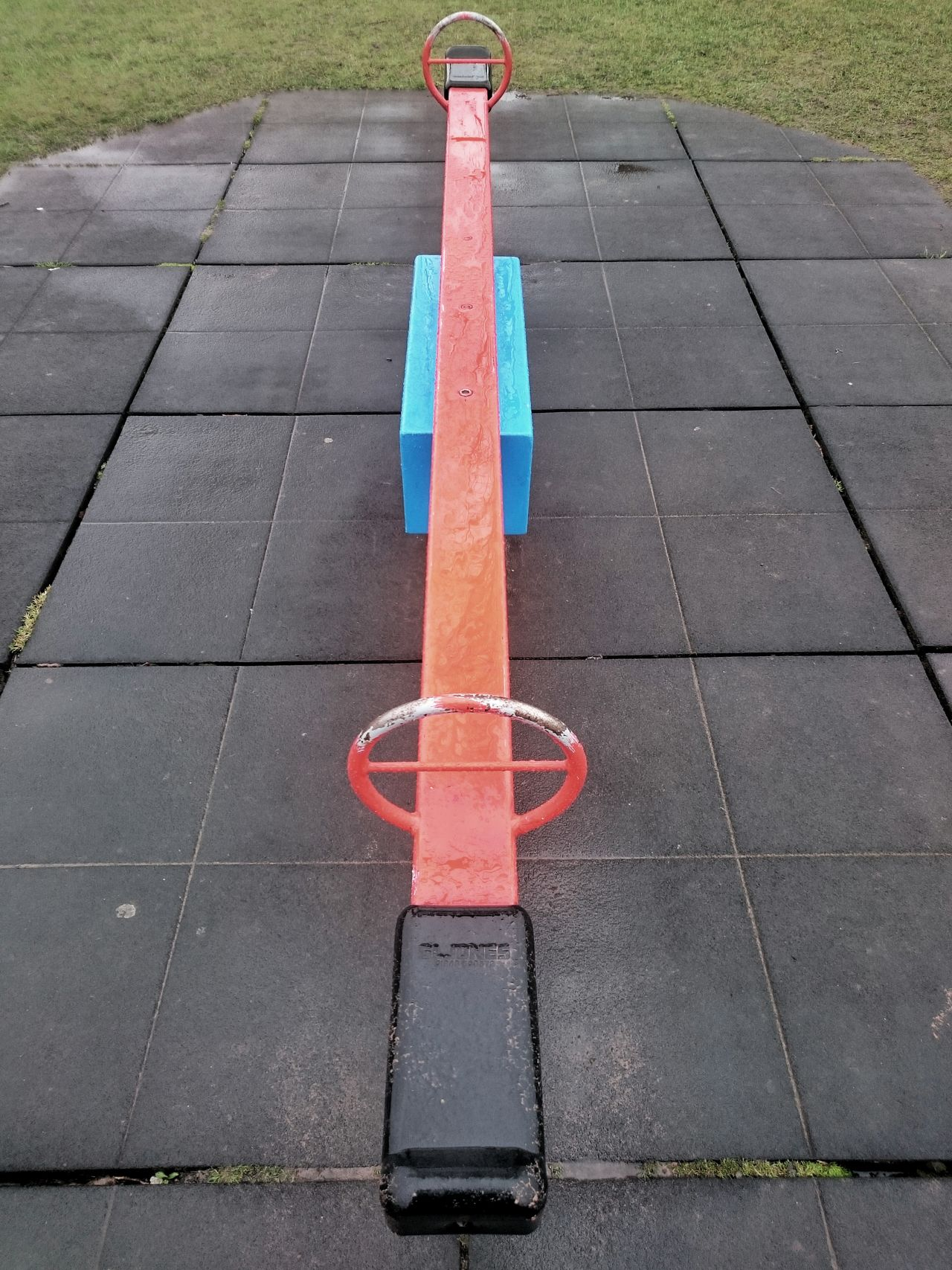 Seesaw // Seesaw Playing Play Playground Playground Equipment Children Play Area No People Field Taking Photos Days Out Stock Photo Stock Image Mike Whitby Taking Pictures Kids EyeEmBestPics Photography EyeEm EyeEm Best Edits Eye4photography  Seats Wet Fun Outside