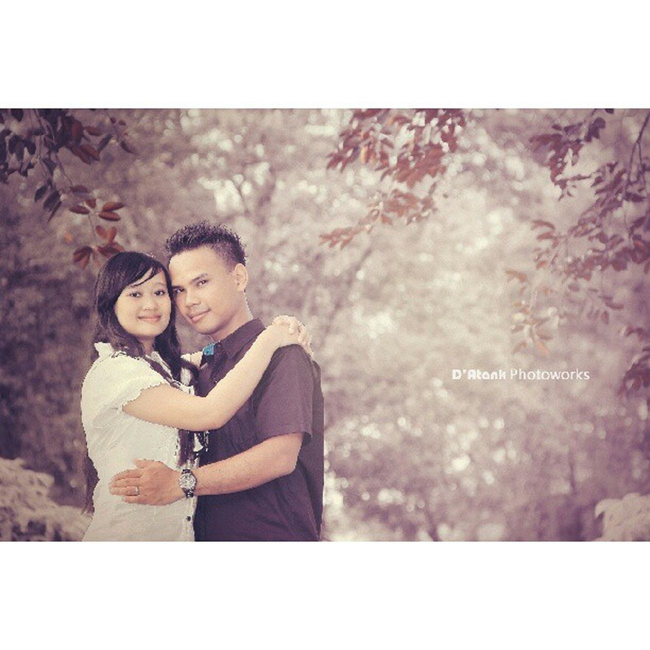 Aroel & nany Couple Photoshoot Preweed Tanjungtabalong Instabanjar