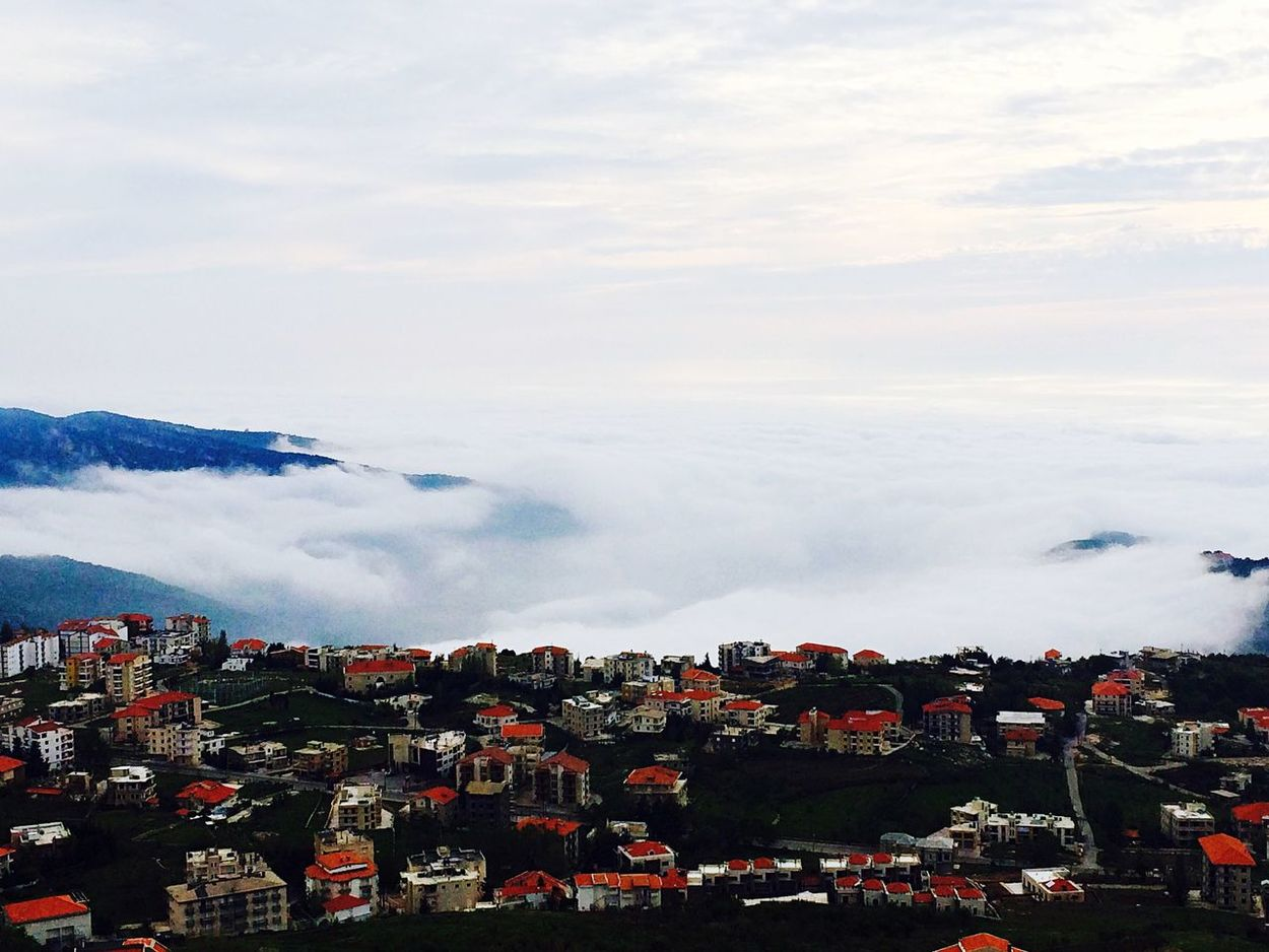 Taking Photos Enjoying Life... Nature Mountain View Holiday Weekend Village Clouds Lebanon Relaxing