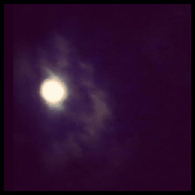 Que lua mais linda *.* Noitedeluar Manaus