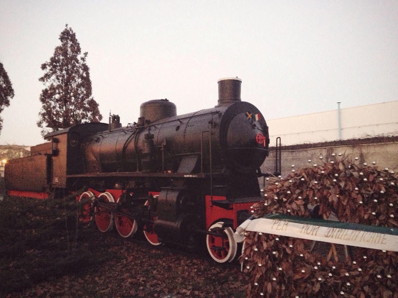 8/365 Verona Italy Italian One Year Project Transportation Rail Transportation Mode Of Transport Railroad Track Sky Steam Train Train - Vehicle Locomotive Outdoors Old-fashioned Metal No People Clear Sky Day Nature Tractor January 8 2017