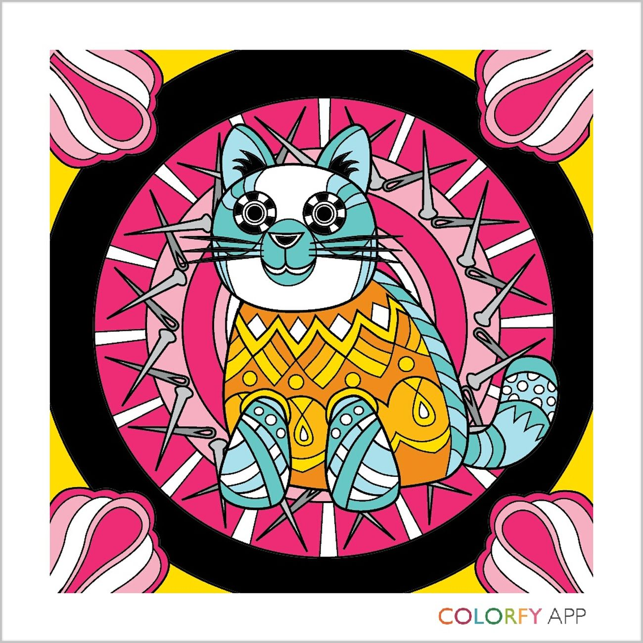 Ilovecat Colorfyapp❤ Colorfy