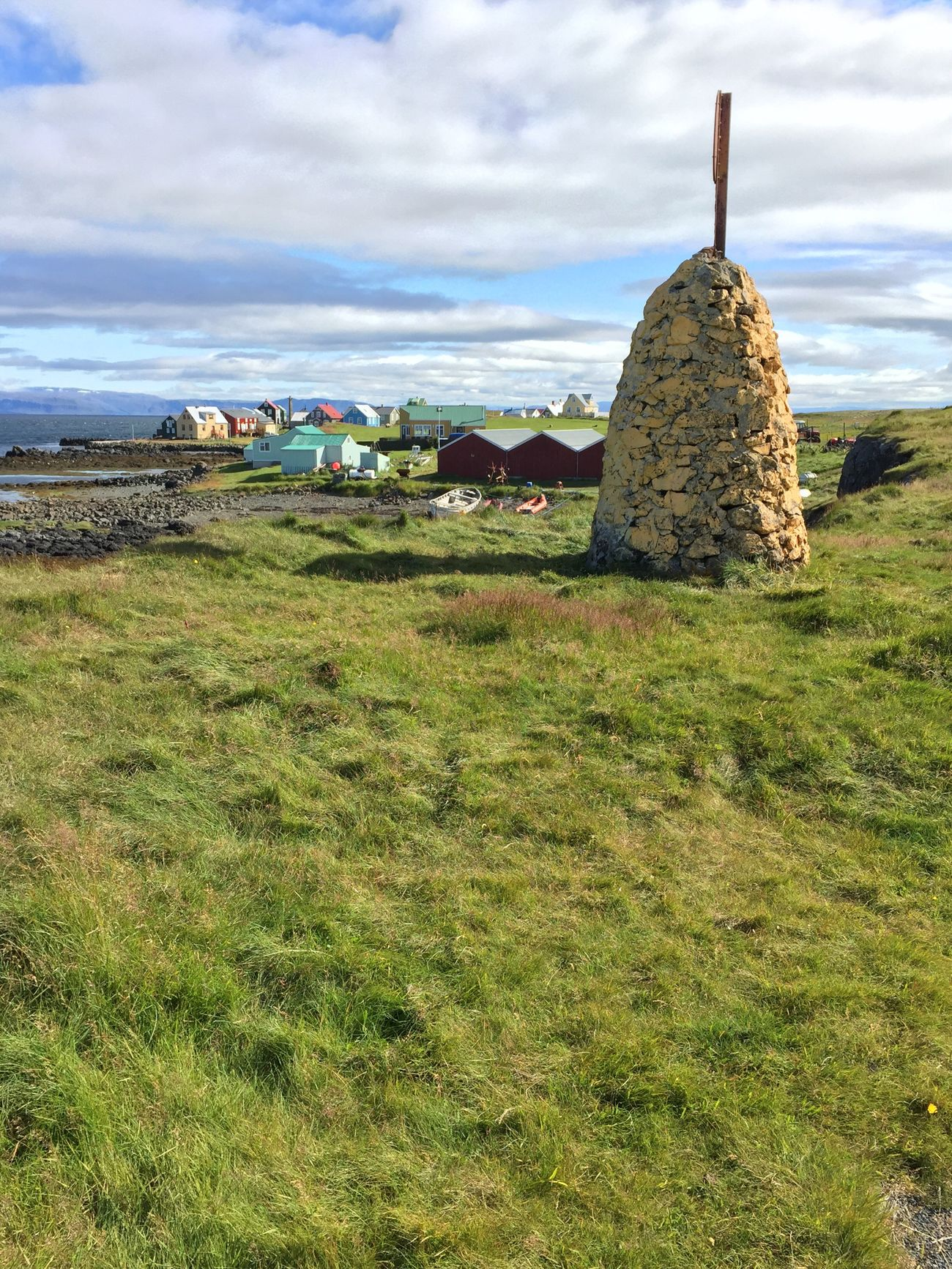 Islande 2016 Colorfull Sun Blue Green Red Yellow Beautiful Village Life In Colors Flatey island, Iceland