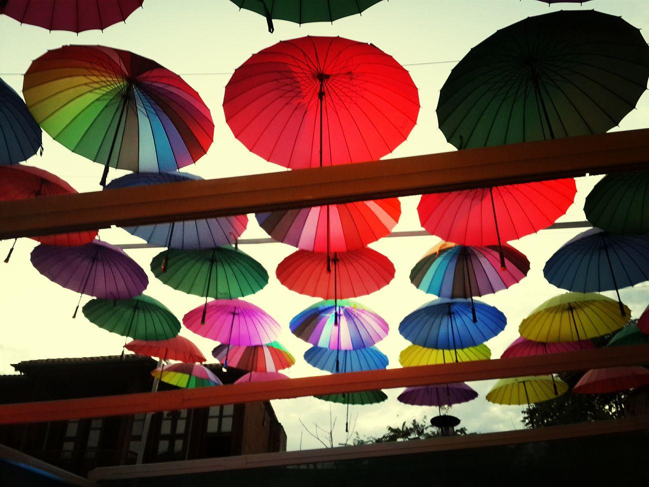 Renklerin çatısı altında cau keyfi :)