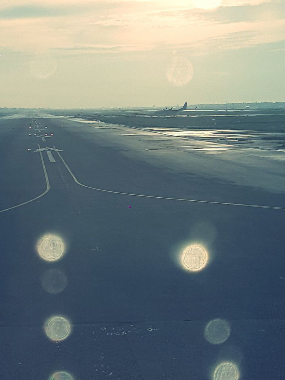 AirPlane ✈ Barajasairport Madrid Spain Taking Off From An Airplane Window