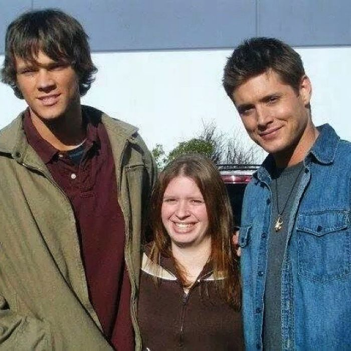 Supernatural TV Show. Old school Wednesday 😉. This was taken during season 4. Not sure how many years ago.. 4 or 5 maybe. Burnaby BC Onset Supernaturaltvshow Burnabybc Actors