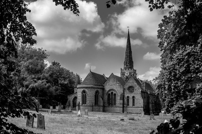 Church of the Holy Sepulchre, Northampton Northampton Architecture Black And White Chuches