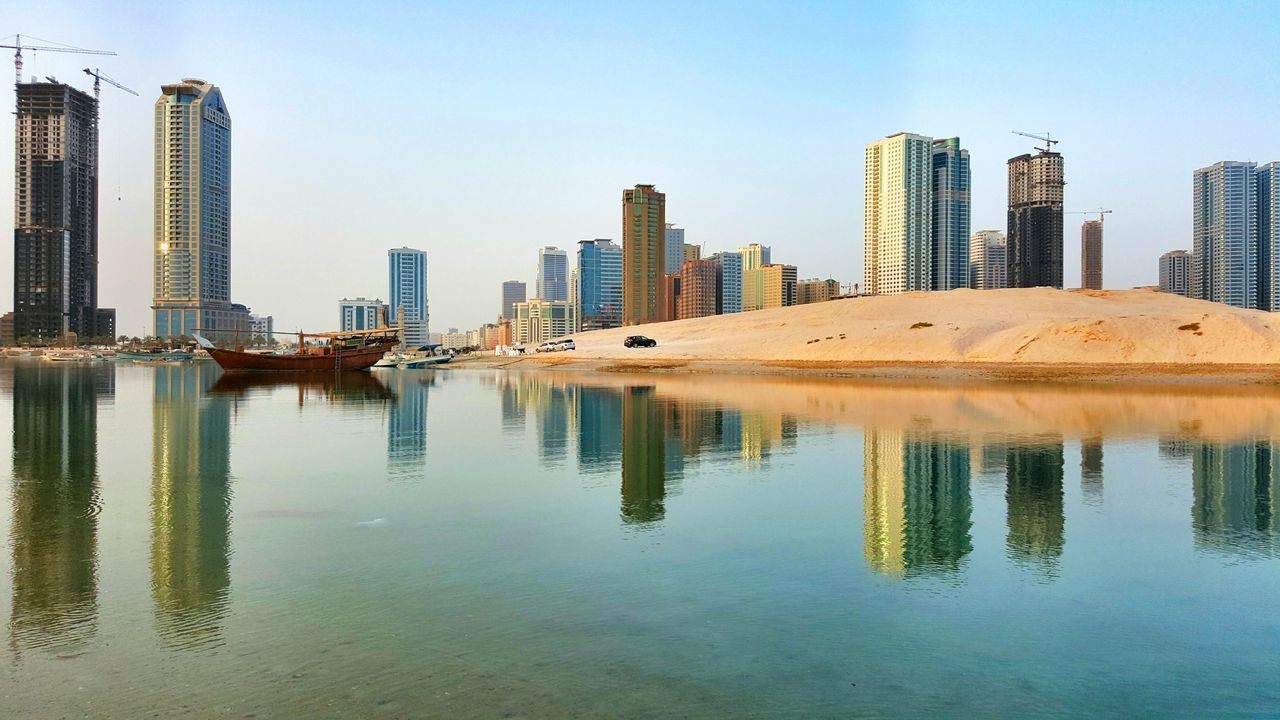 Beautiful stock photos of dubai, , Beach, Boat, City