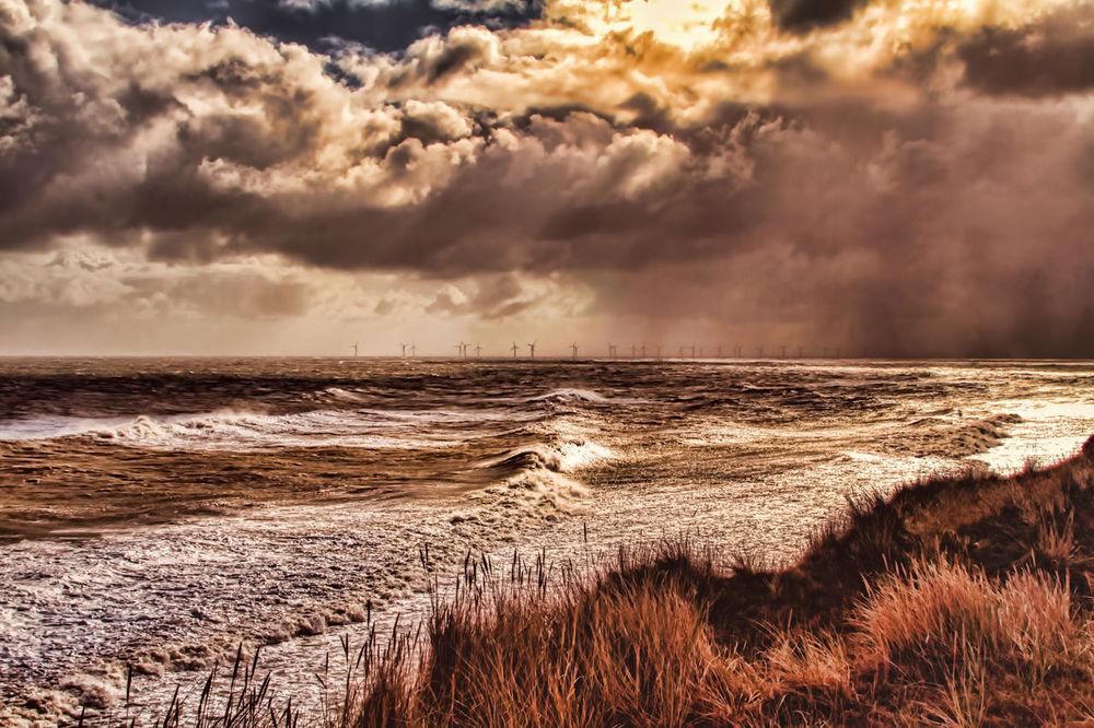 Norfolk Storm Beach Beauty In Nature Cloud - Sky Coastal Storm Horizon Over Water Sea Sky Storm Stormy Weather Water Wave Weather
