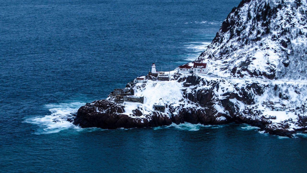 Newfoundland Saint John's NFLD Sea_collection Winter Wonderland Signalhill Winter Snow ❄ Snow