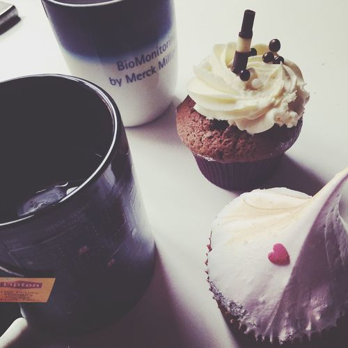 Avec l'homme de mes rêves ??? Cupcakes Impossible Love Him Mug Tea Cold