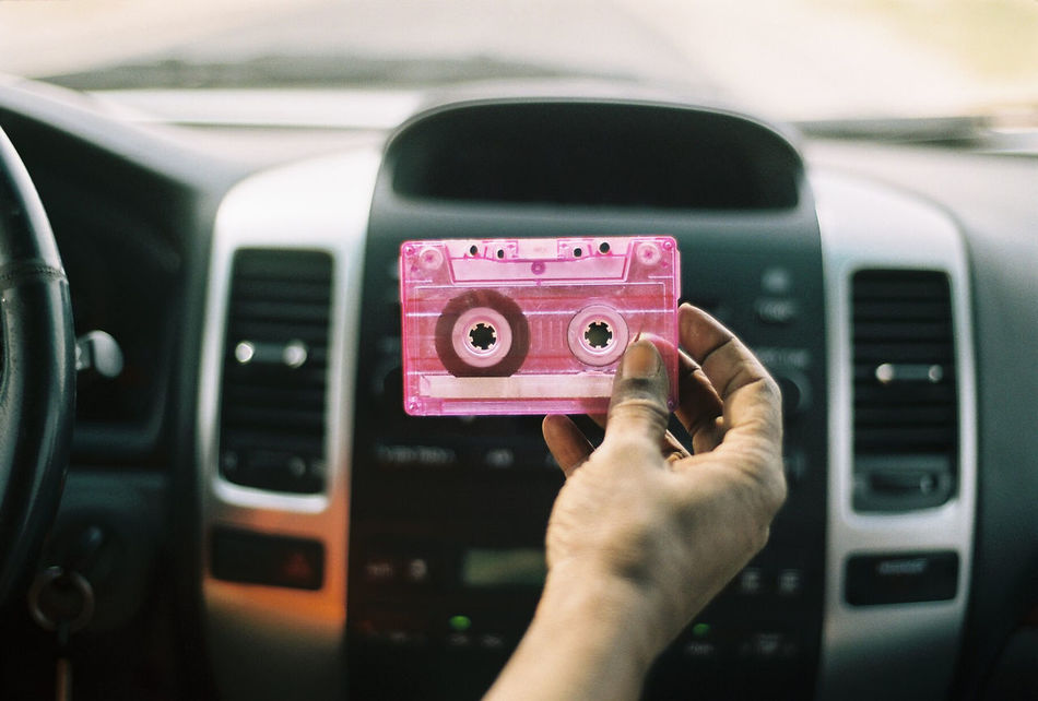 Beautiful stock photos of vintage, Audio Cassette, Car Interior, Close-Up, Cropped