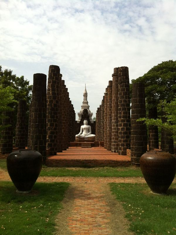 Photos of Bangkok, Thailand 2012 Architecture Built Structure Cultures Day No People Outdoors Place Of Worship Religion Sky Spirituality Tree