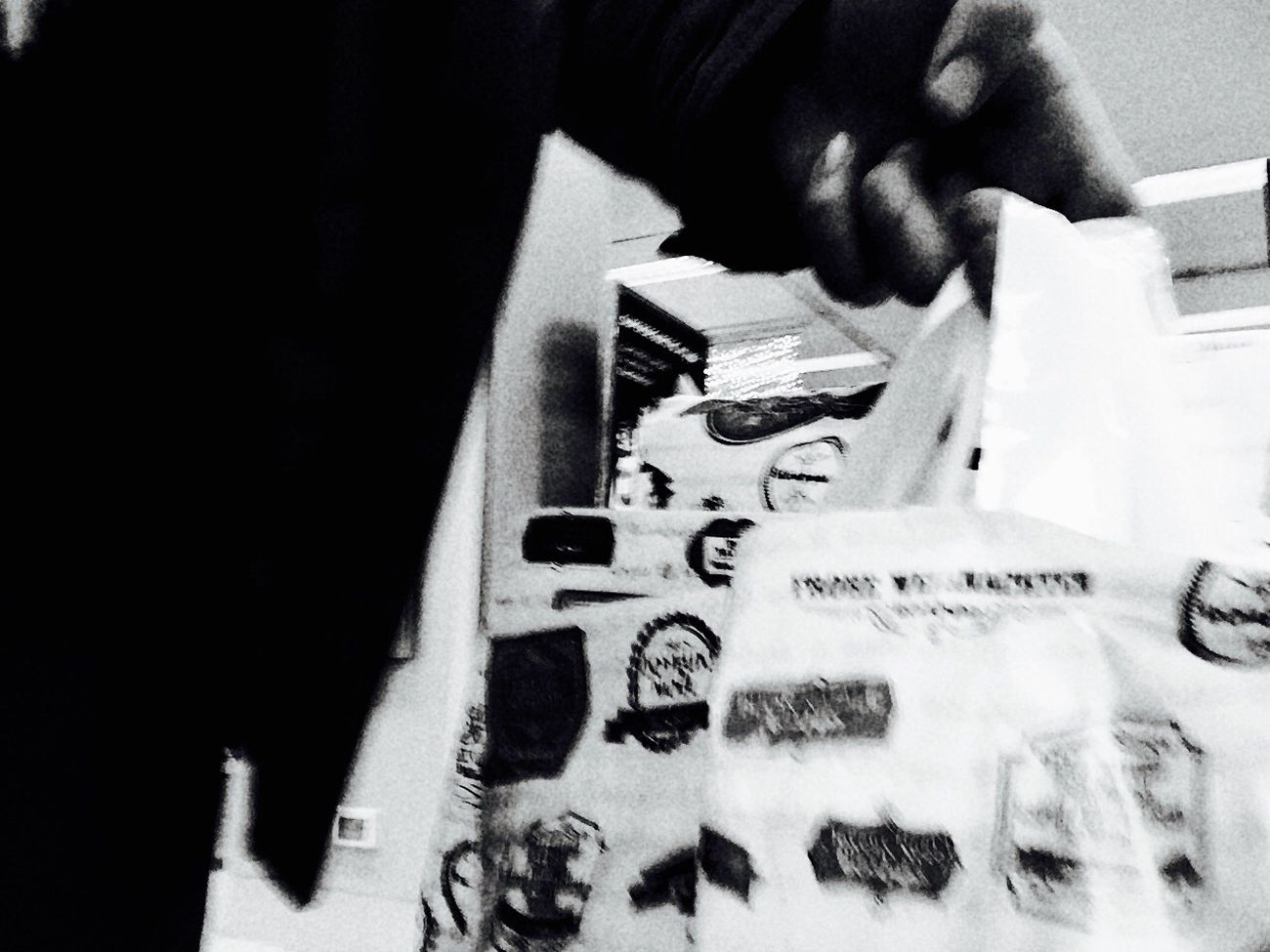 The Man With The Bag Compras!! Obsessivecompulsivedisorder