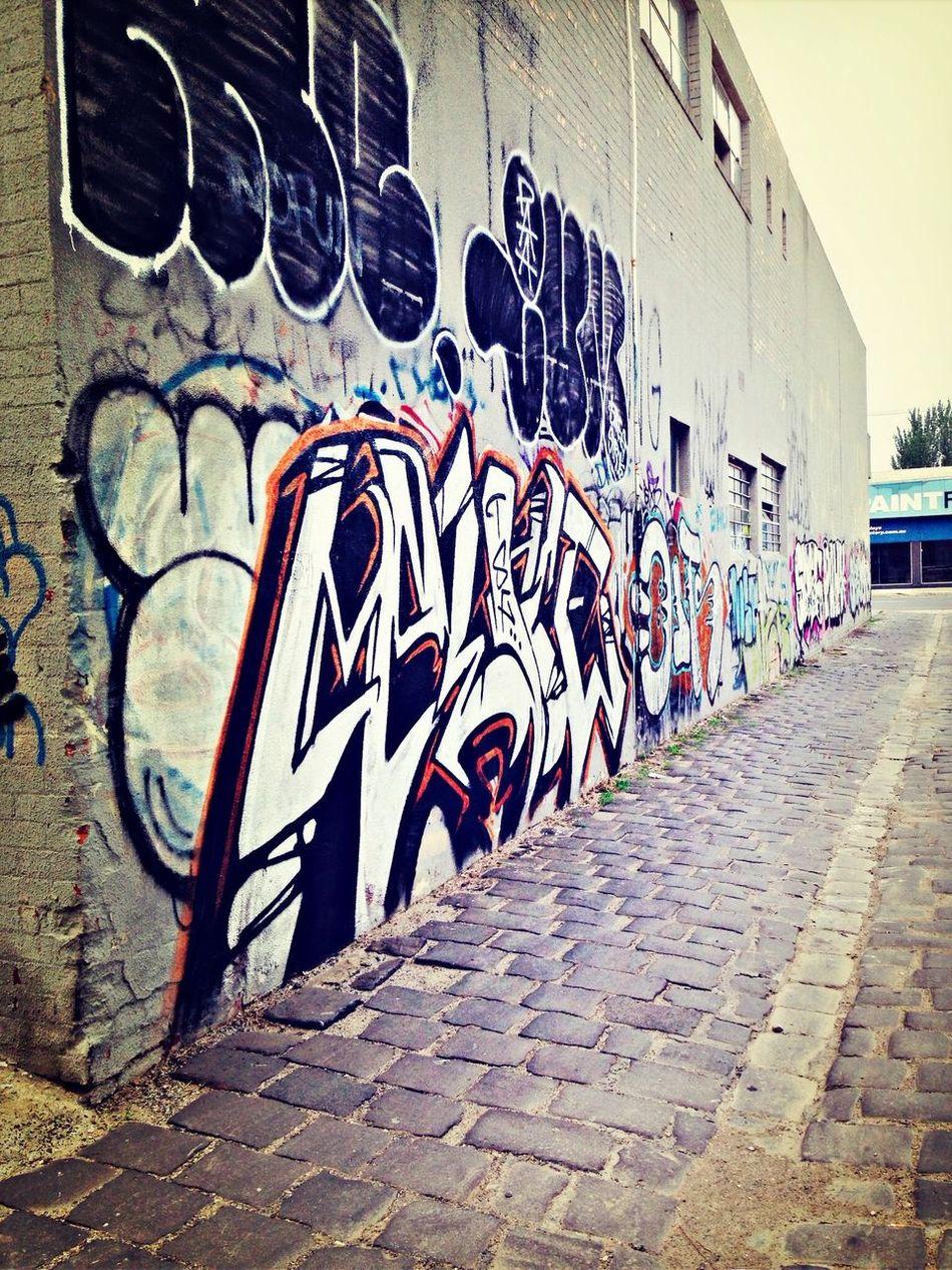 Graffiti lanes