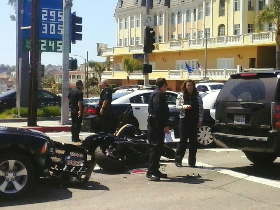Motorcycle LAPD Check This Out April Showcase City Of San Pedro