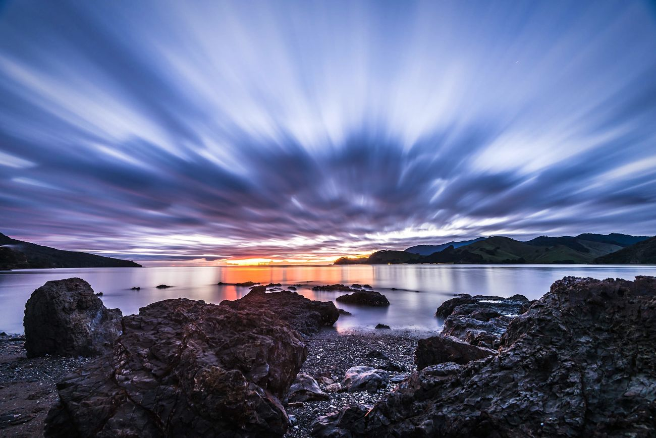 Colville Bay put on a real show tonight The Places I've Been Today Creative Light And Shadow Long Exposure Ladyphotographerofthemonth EyeEm Best Shots EyeEm Masterclass Cloudporn EyeEm Best Shots - Sunsets + Sunrise Sunset_collection Sky_collection