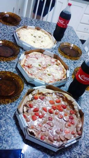 Dia de Pizza com os amigos!
