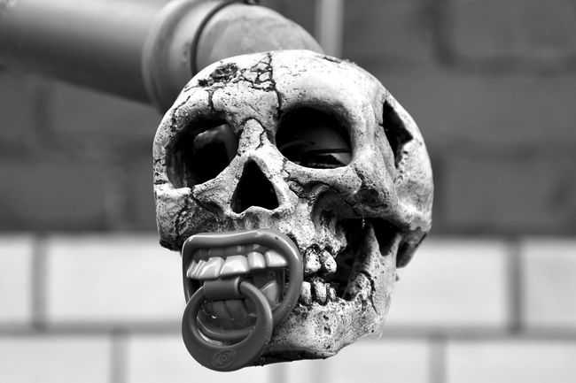 absurd design Close-up Dark Day Death Design Focus On Foreground No People Outdoors Skull