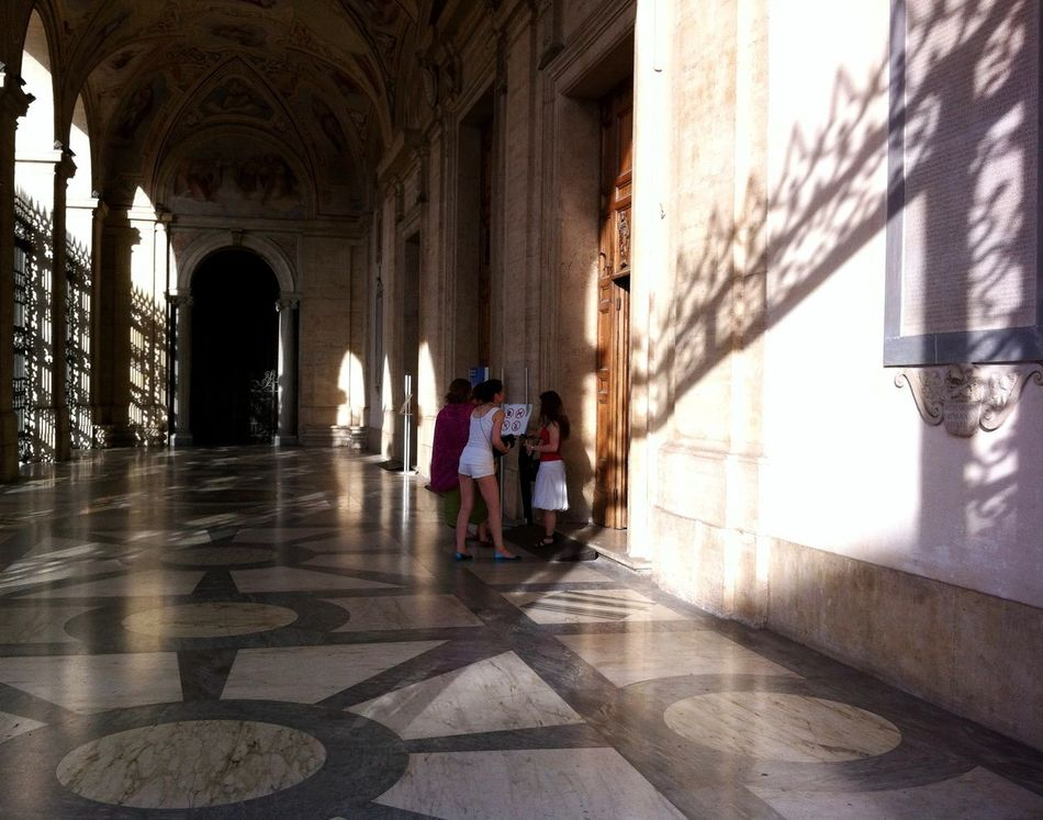 Arch Architecture Basilica Di San Giovanni In Laterano Building Building Exterior Built Structure Ceiling Column Creative Light And Shadow Entrance Historic Indoors  Italy Leading Light And Shadow Loggia Delle Benedizioni Old Pórtico Religion Rome Wall