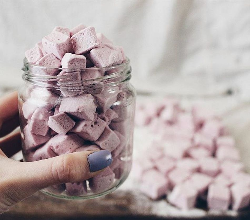 ♡♡♡ Marshmallow Blueberry Vscoternopil Alia_vs_sweets Vscophoto аля_приготувала маршмелоу