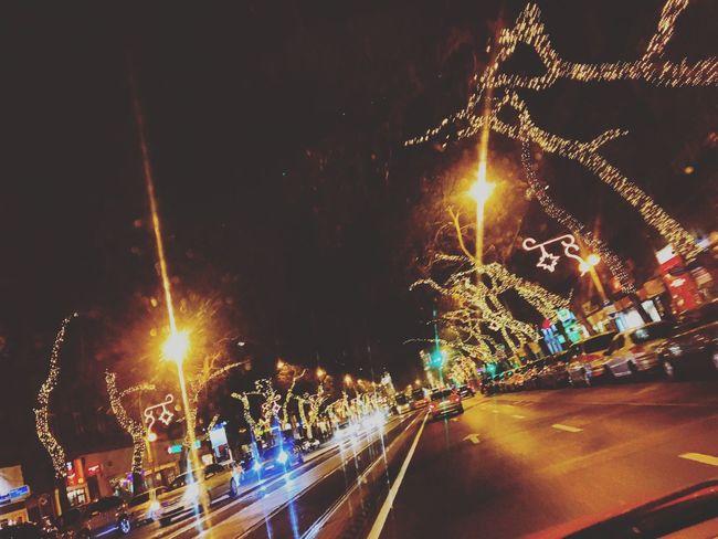 Best Christmas Lights at Budapest in Erzsébet Körút