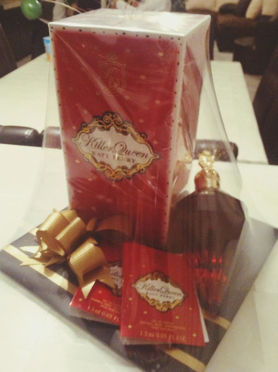 Thanks for my gift :3 Killerqueen Katyperry