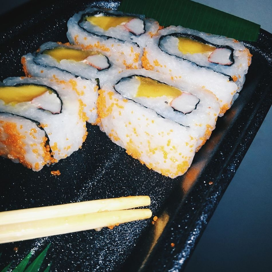 California Maki Close-up Food Food And Drink Freshness Healthy Eating Making Music No People Ready-to-eat Seafood Sushi Temptation
