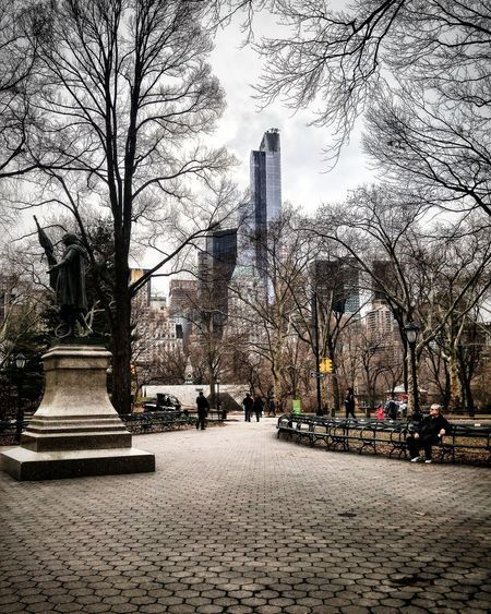 Walking around Central Park NYC Manhattan Hanging Out