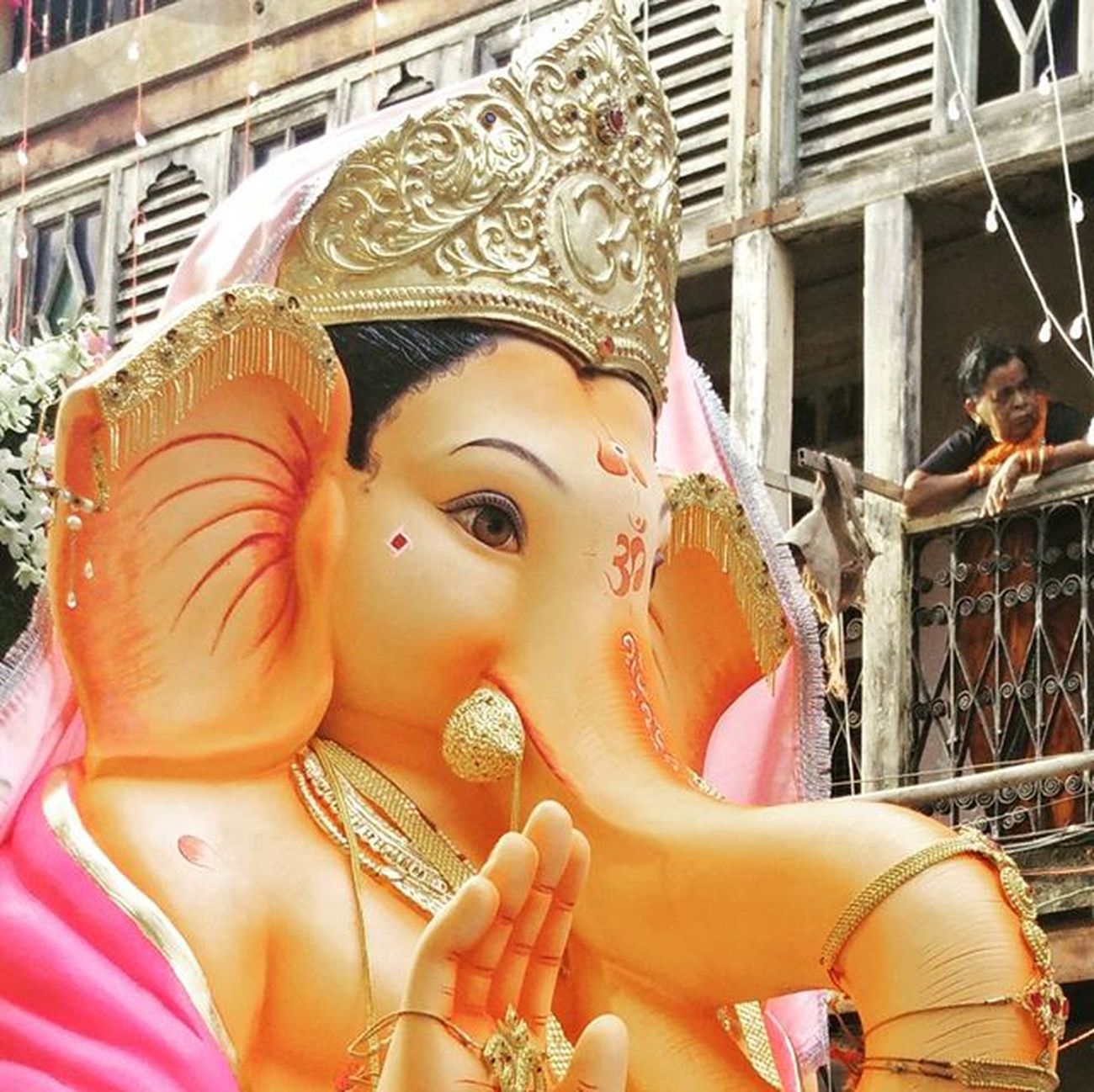 Ganpati Bappa.....Morya !!!! Ganpati Ganesha GaneshChaturthi Chikhalwadi Lord Idol Religion Festival