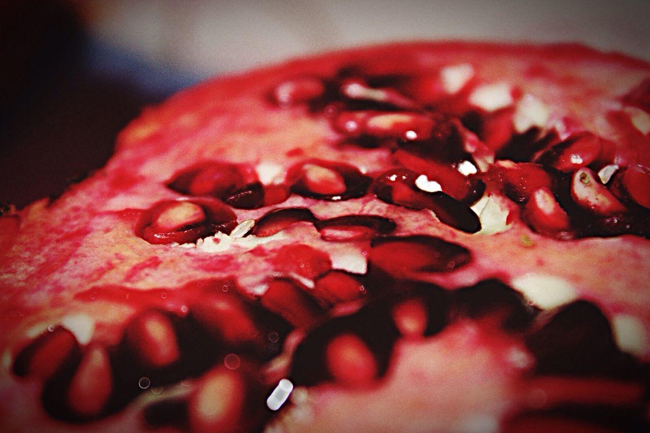 Close-Up Of Pomegranate