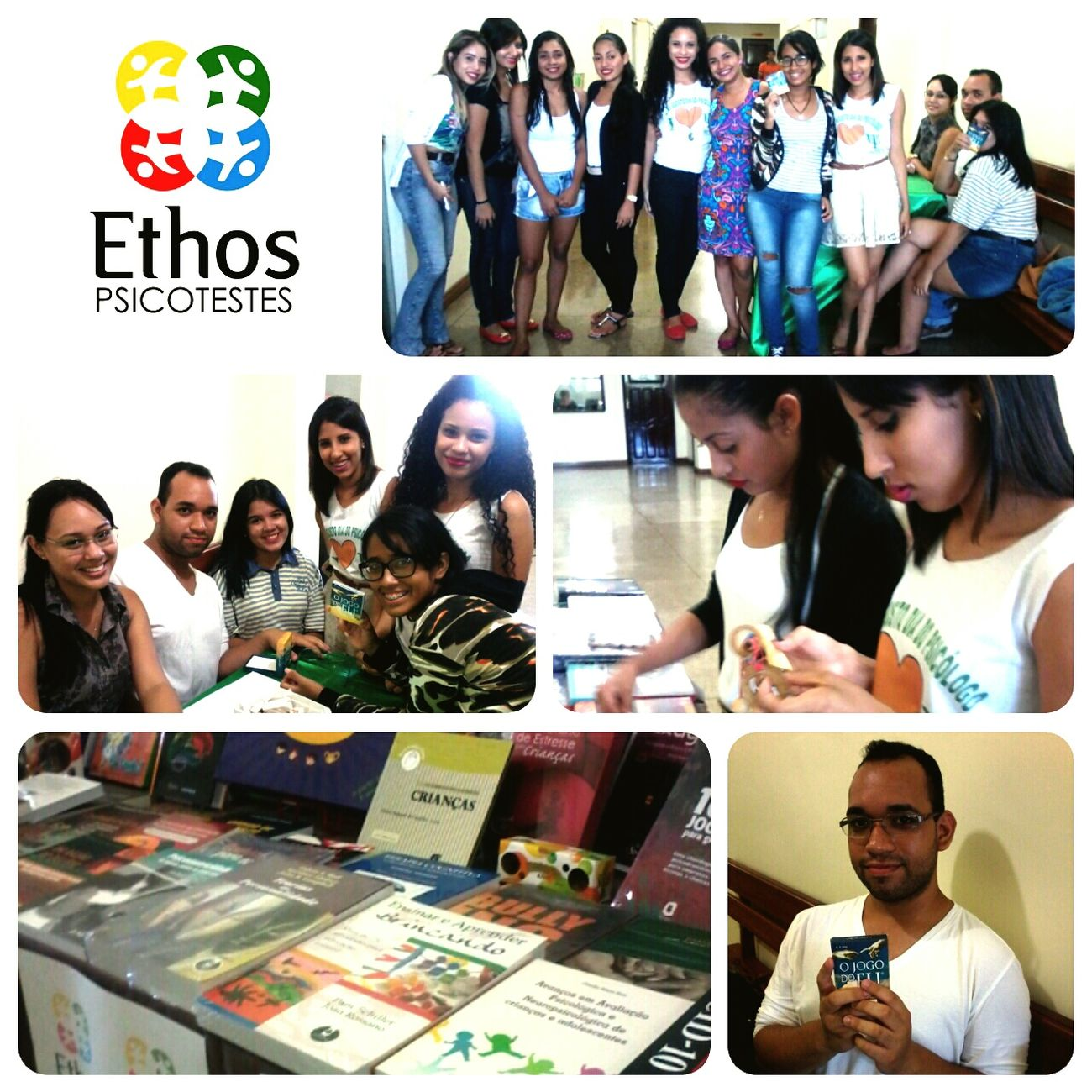 Os alunos de Psicologia do IMMES se divertiram com os recursos psicopedagógicos oferecidos pela Ethos. Venha conhecer você também a Ethos em Macapá! Immes Naethos