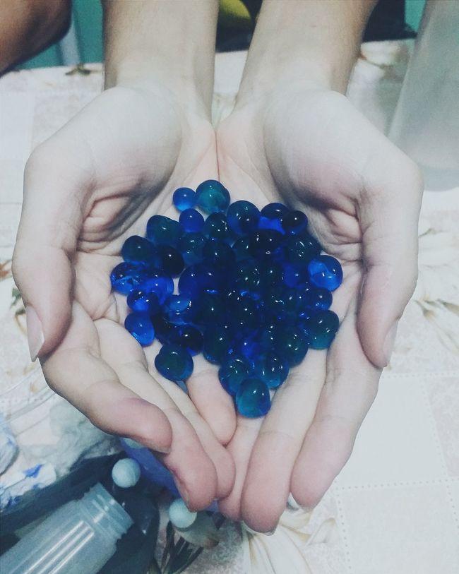 Jelly Balls Balls Blue Water Balls