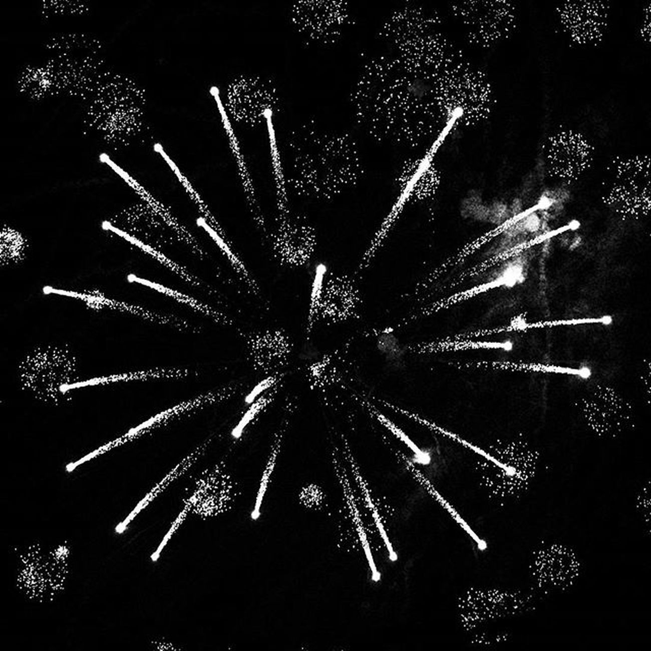 Fireworks Westerville Ohio July4th Blackandwhite Bnw_society Bnw Insta_bw Bw Bw_lover Blackandwhitephotography Monochrome