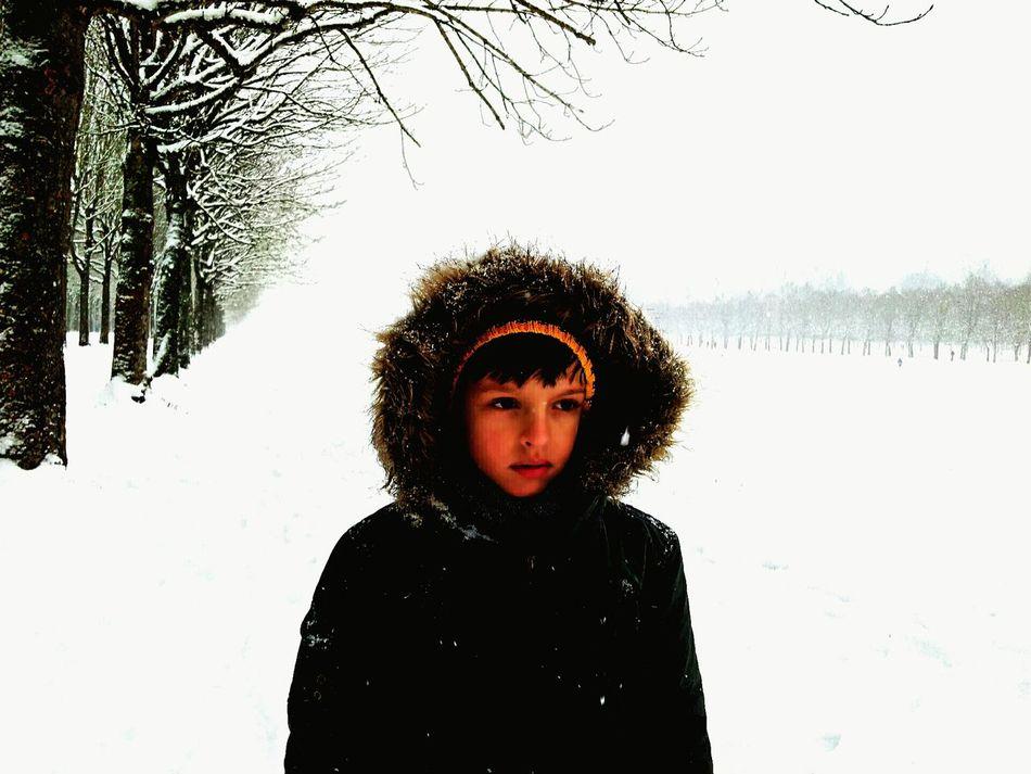 Fontainebleau My Smartphone Life Snow Childrensday Enjoying Life Skand