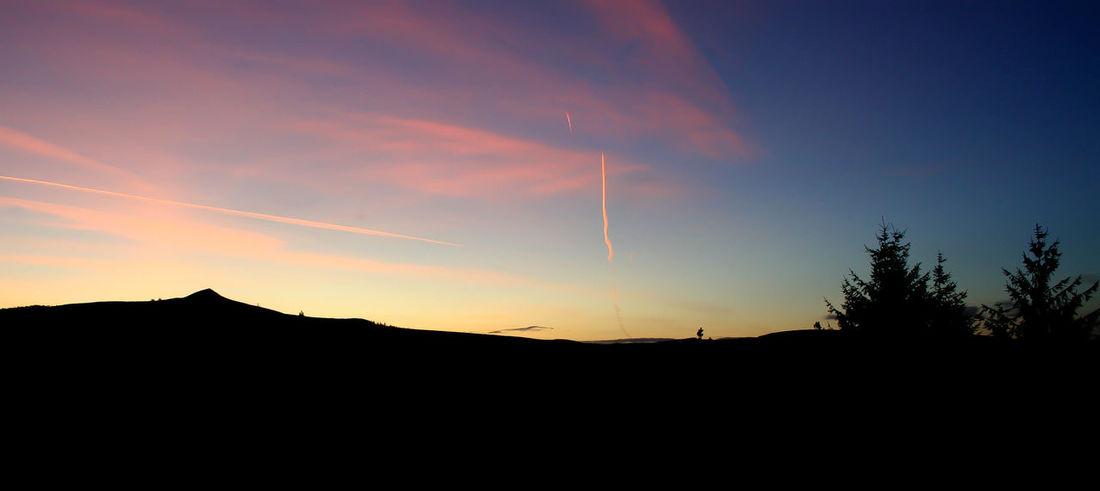 Sunset Silhouette Dramatic Sky Outdoors No People Beauty In Nature Night Sky Snowdon Snowdonia National Park Snowdonia Mountain Range Mountain Mountain View