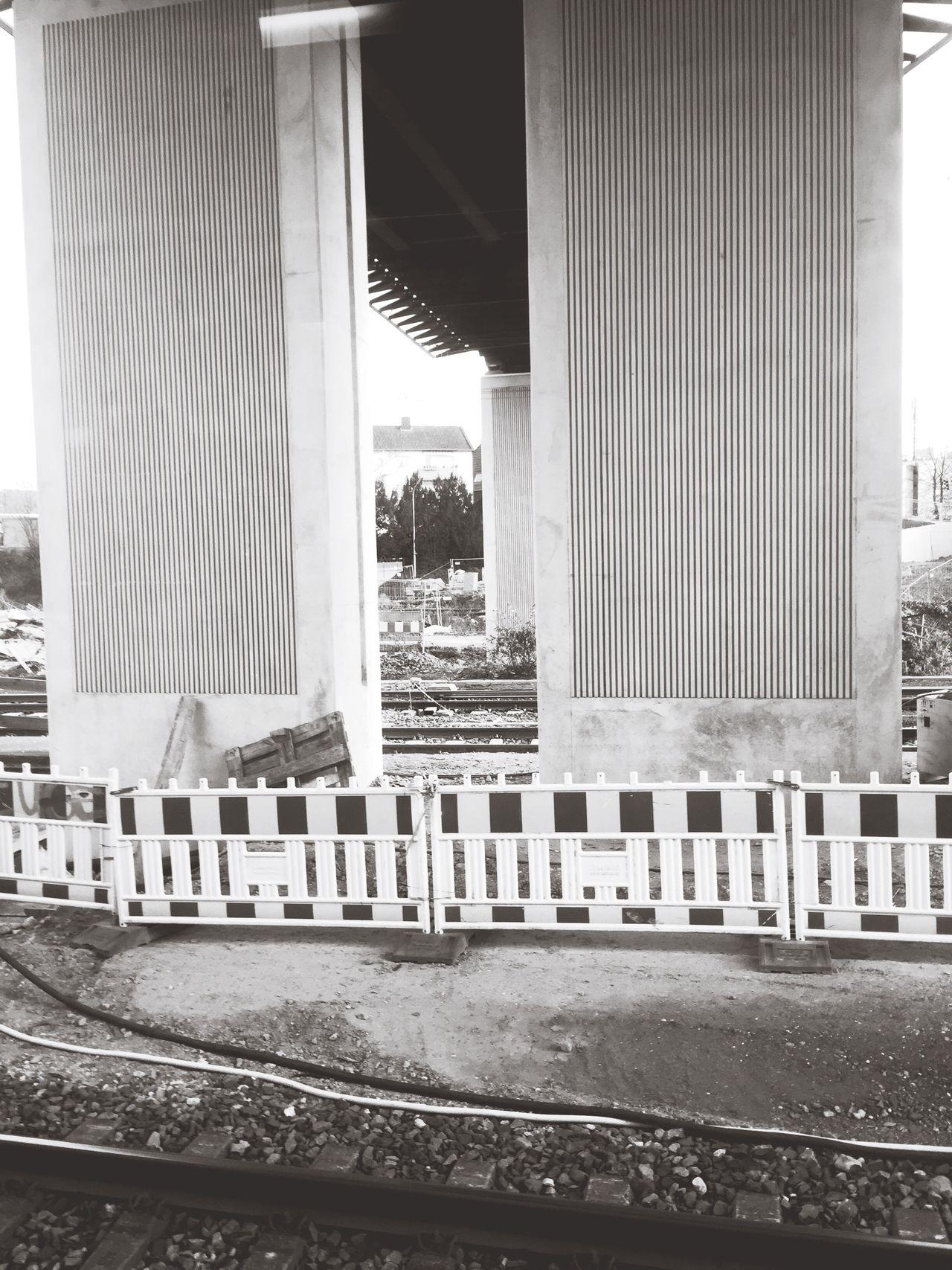 Traveling Train Train Station Adventure Construction Rails Blackandwhite Black&white Black & White Black And White
