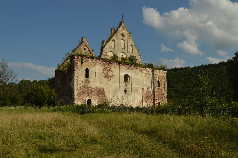 Ukraine Carpaty Ruins