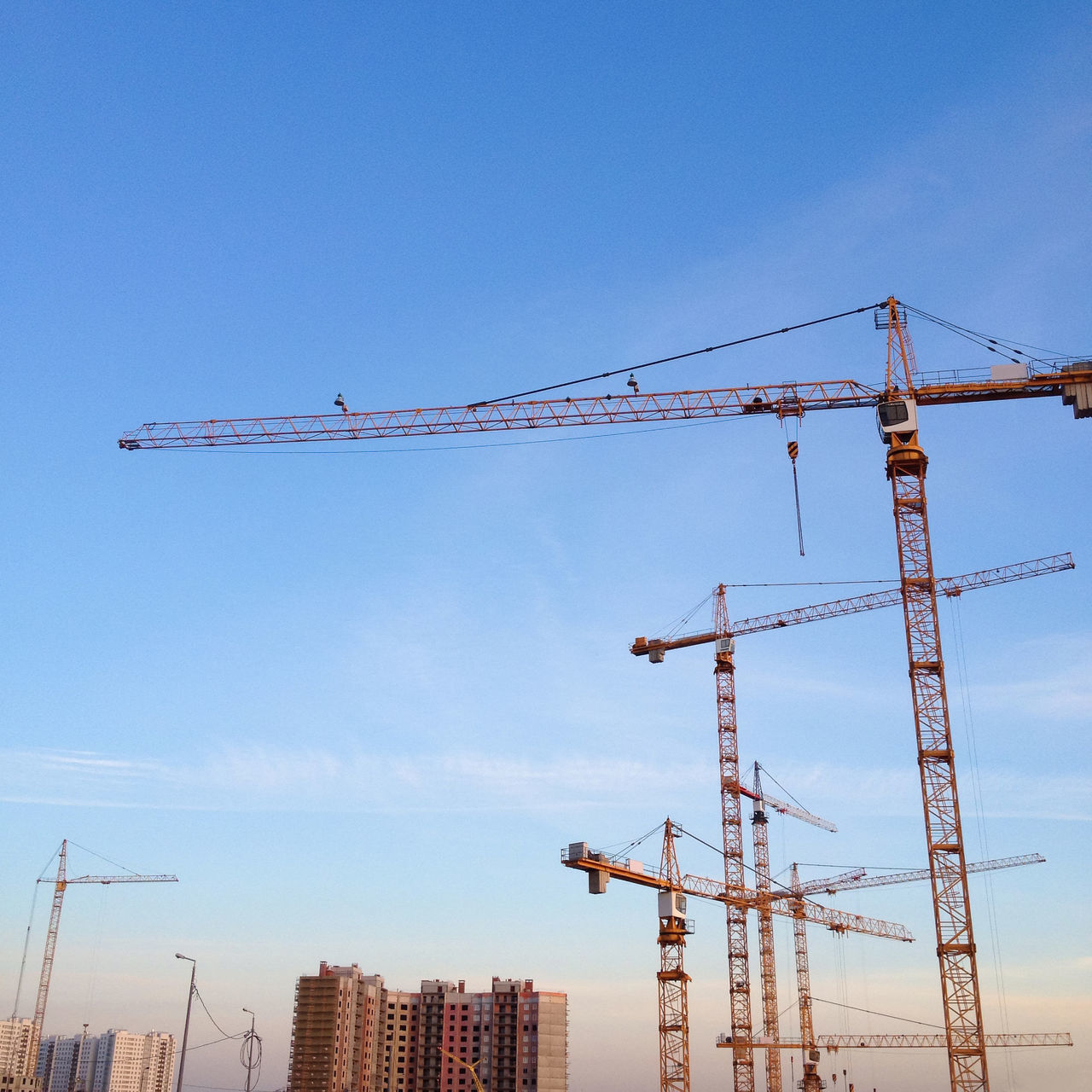 Beautiful stock photos of work,  Built Structure,  Cloud - Sky,  Construction Industry,  Construction Site