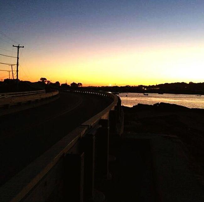 Baileys Island Cobblestone Bridge Sunset Ocean Summer 2015 September Beautiful Carnivalmo0nscorperated