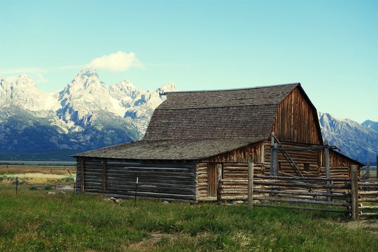 Grand Teton National Park  Barn Mormons