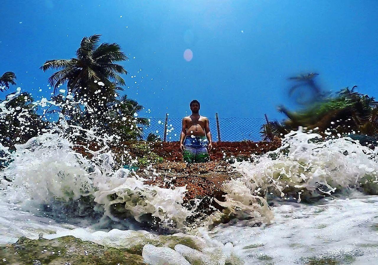 The Portraitist - 2016 EyeEm Awards Shorebreak India Goa Anjuna Beachphotography Beachesofindia Oceanart
