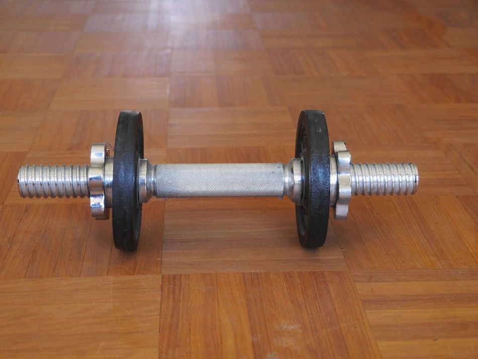 Close-up Day Dumbbell Exercise Equipment Exercising Gym Health Club Indoors  Metal No People Sport Strength Weightlifting