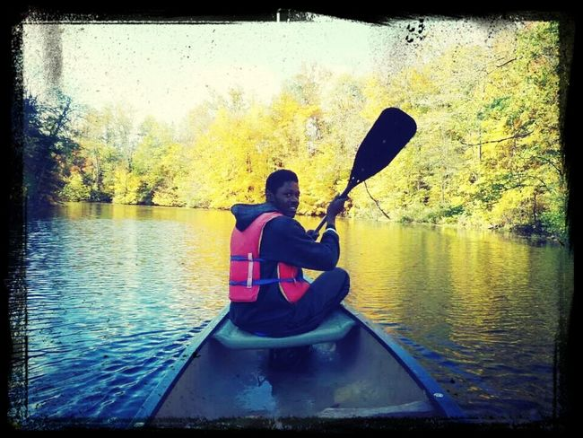Canoë is more fun then I've expected @camping