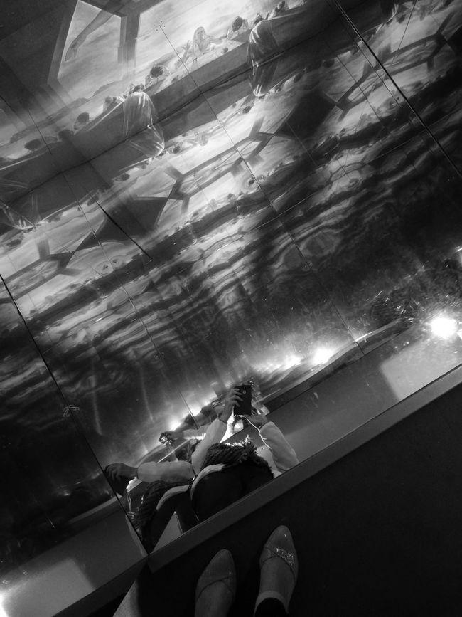 Belgium Blackandwhite Photography Mirror Picture Mirror Effect