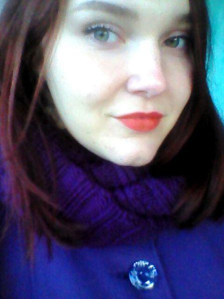 Love <3 Red Hair Autumn Sweet Mimimi Sweet Lips Girl Green Eyes Red Lips Hi Beauty Beautiful Hello World Eyes That's Me Hi! Autumn Colors Lips
