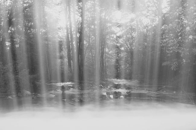 Looking through a waterfall. Water Water Everywhere Bnw_friday_eyeemchallenge Waterfall Long Exposure Nature See Through Clear Water Water_collection Transparent Hickoryrunstatepark Hickory Run State Park Aqua H2o EyeEm Nature Lover Blackandwhite
