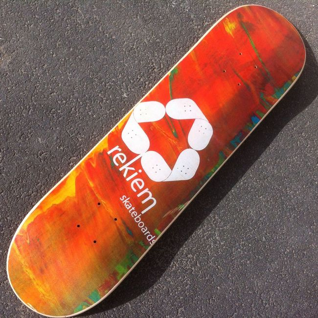 New Skateboards Rekiem Skateboards