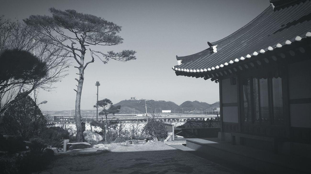 Background Korean-style House